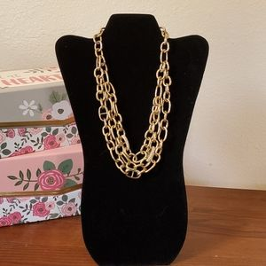 INC Layered Chunky Necklace